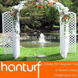 Новое поколение прочный волоконно-стекло искусственная трава для свадьбы украшения