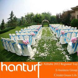 Свадьба ну вечеринку использования красивый искусственная трава
