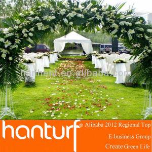 Del banquete de boda de césped ARTIFICIAL para jardinería