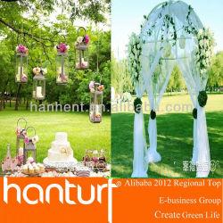 Fête de mariage pelouse artificielle pour la décoration de mariage
