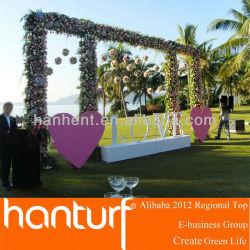 Fête de mariage artificielle pelouse pour jardin décoration