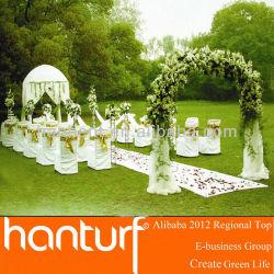 Fête de mariage artificielle pelouse UV résistance