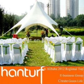 la fiesta de boda de césped artificial favorable al medio ambiente