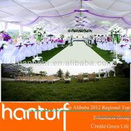 Haute qualité de mariage artificielle pelouse pour UV résistance