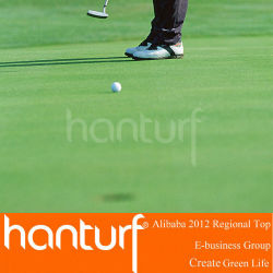 Top artificielle golf pelouse