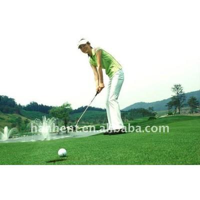 Miniatura campo de golf de hierba