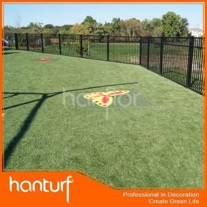 Hierba artificial para zona de juegos