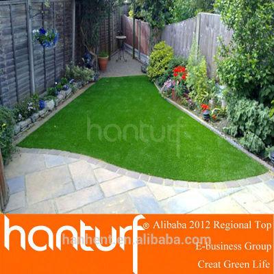 Verde exterior césped falso hierba para jardín / gorra de béisbol / rugby y áreas