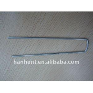 Material : galvanizado U pin del clavo