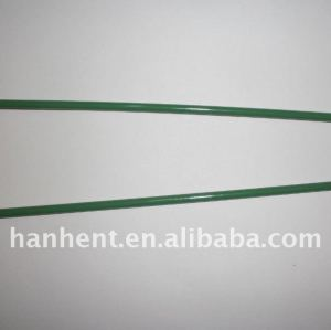 Verde revestido galvanizado U pin de uñas para césped artificial