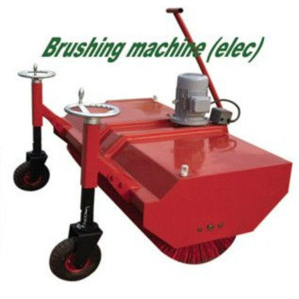 Grama artificial ferramentas : máquina de escovação