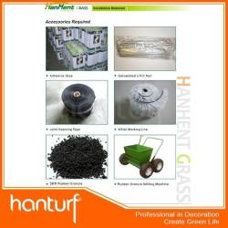 Футбол искусственная трава установка accessoreis balck резиновые гранулы