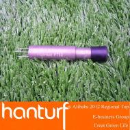 Gazon artificiel outils : plancher test