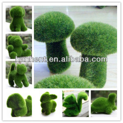 Зеленый искусственная трава кролик