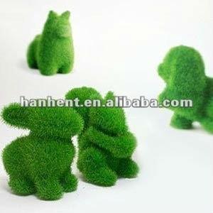 Hanturf verde animales de césped Artificial
