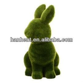 Hierba de recubrimiento de conejo