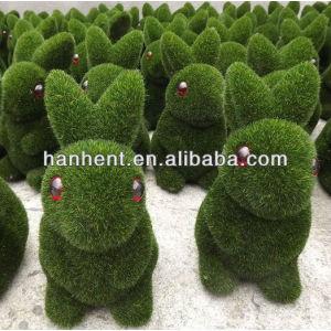 Promoción de la navidad de hierba de la fibra de conejo decoración