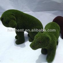 Grama Artificial jardim decorativo animais coelho