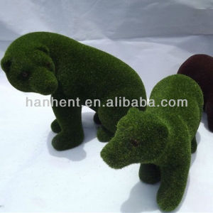 Artificial jardín decorativas conejo animales