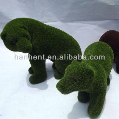 Artificielle herbe jardin décoratif lapin animaux