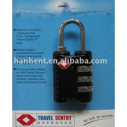 Haute sécurité vente chaude TSA serrure