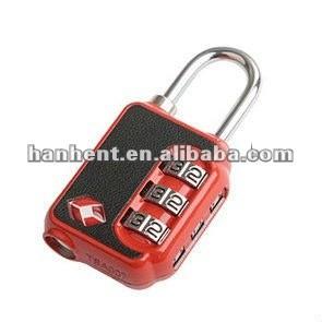 Seguridad de bloqueo TSA bloqueo HTL21006
