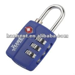 Haute sécurité cadenas TSA HTL20989