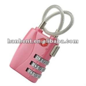 Niza HTL719 tsa del equipaje de bloqueo