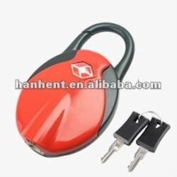 Belle TSA serrure à clé HTL332 rouge