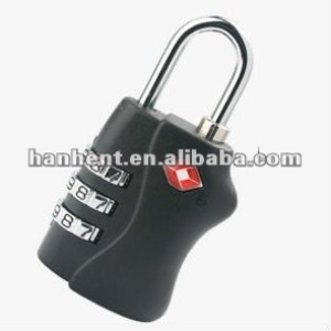 Precioso keylessTSA bloqueo HTL338 negro