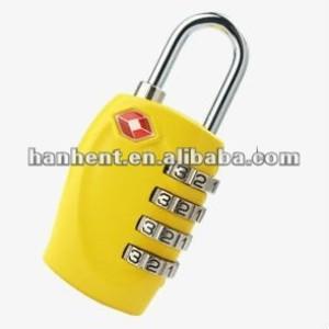 Viajes tsa cerradura de combinación HTL330 amarillo
