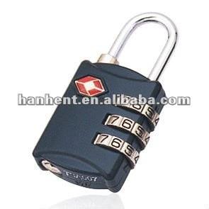 Reajustable 3 dial TSA bloqueo HTL302