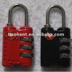 3 chiffres haute sécurité cadenas TSA
