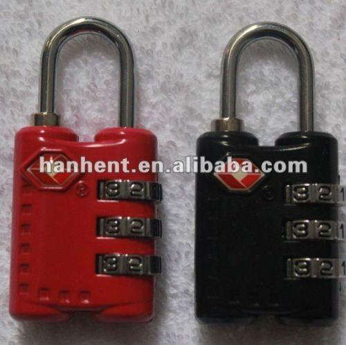 3 dígitos alta seguridad TSA Lock