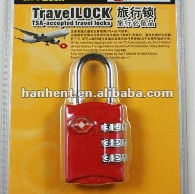 Combinación de equipaje de bloqueo HTL302