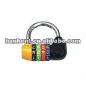 Color 4 marque cerradura de combinación, Cerraduras de equipaje