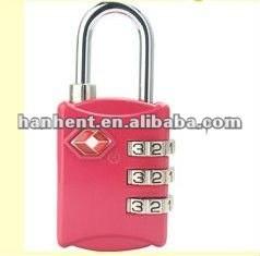 De seguridad tsa cerradura de combinación HTL302