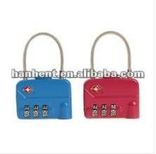 Promoción de la navidad mini cerraduras de equipaje tsa HTL320