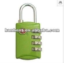 Promoción de la navidad de equipaje tsa sin llave de bloqueo