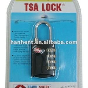 Diseño popular TSA aprobado equipaje de bloqueo