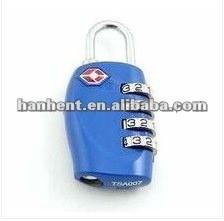 Aprobado TSA 4-Dial de la cerradura de bloqueo para viajar