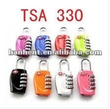Venta al por mayor! Verde Mini equipaje bloqueo para viajes TSA