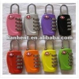 Moda 4 dail combinación de viaje lock