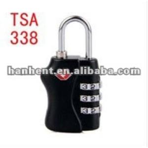 Tsa sin llave cerradura de combinación para el viajero