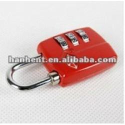 Tsa rouge 20939 combinaison de métaux verrouillage