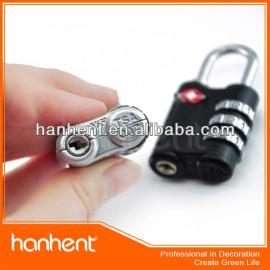 Mini bolso en forma de 3 dial de la combinación cerraduras