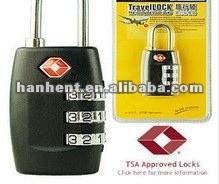 2012 populares TSA del equipaje de bloqueo HTL335