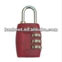 Populaire 3 dial tsa bagages de verrouillage HTL335