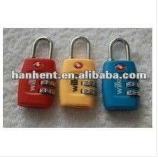 De seguridad TSA del equipaje de bloqueo HTL335