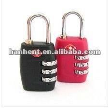 Del bolso del equipaje aprobado tsa bloqueo exterior HTL335
